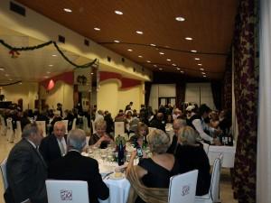 Una mesa bien presentada en Nochevieja Hotel en Gandia 2013