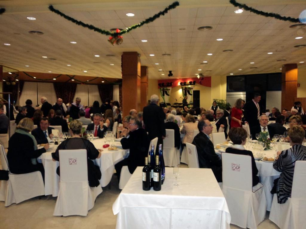 Un momento de la Nochevieja Hotel en Gandia 2013