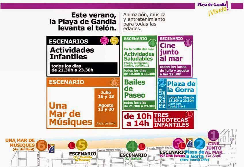 Programa Gandia Vívela 2014