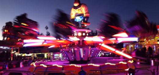 Feria atracciones de Gandia