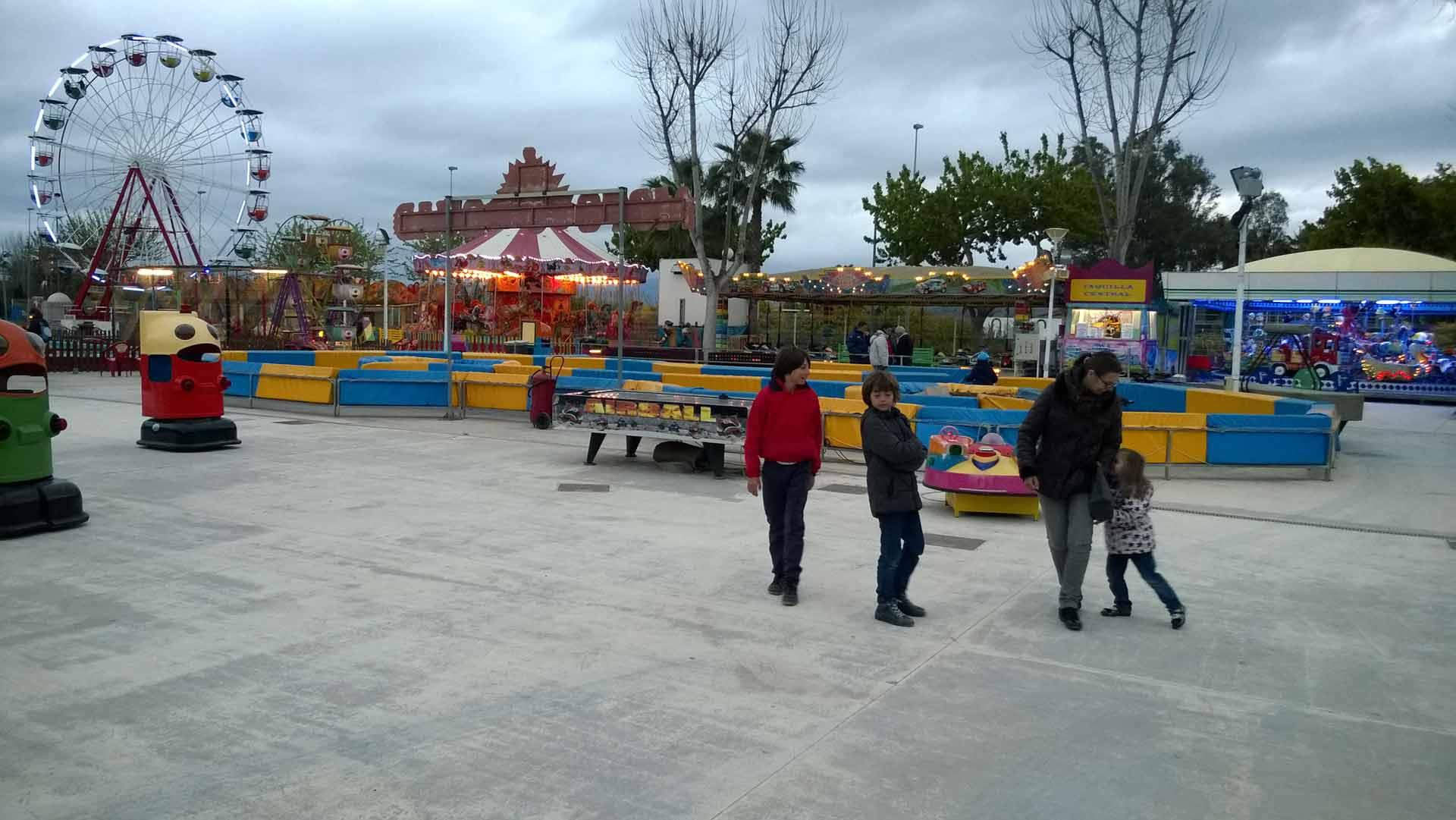 foto parque atracciones Gandilandia gandia
