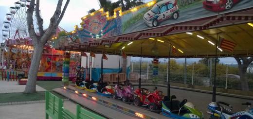 foto tiovivos parque atracciones Gandilandia gandia