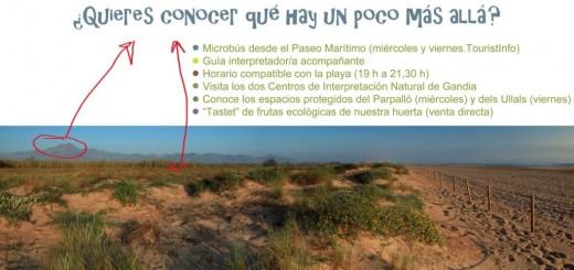 Excusriones Playa Natura Gandia