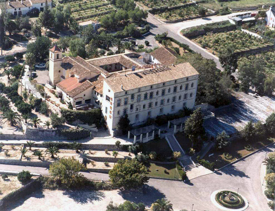 Foto monasterio de Aigues Vives Monasterios valencia