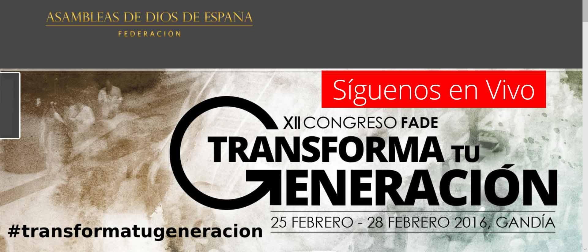 Logo Federación de Asambleas de Dios de España
