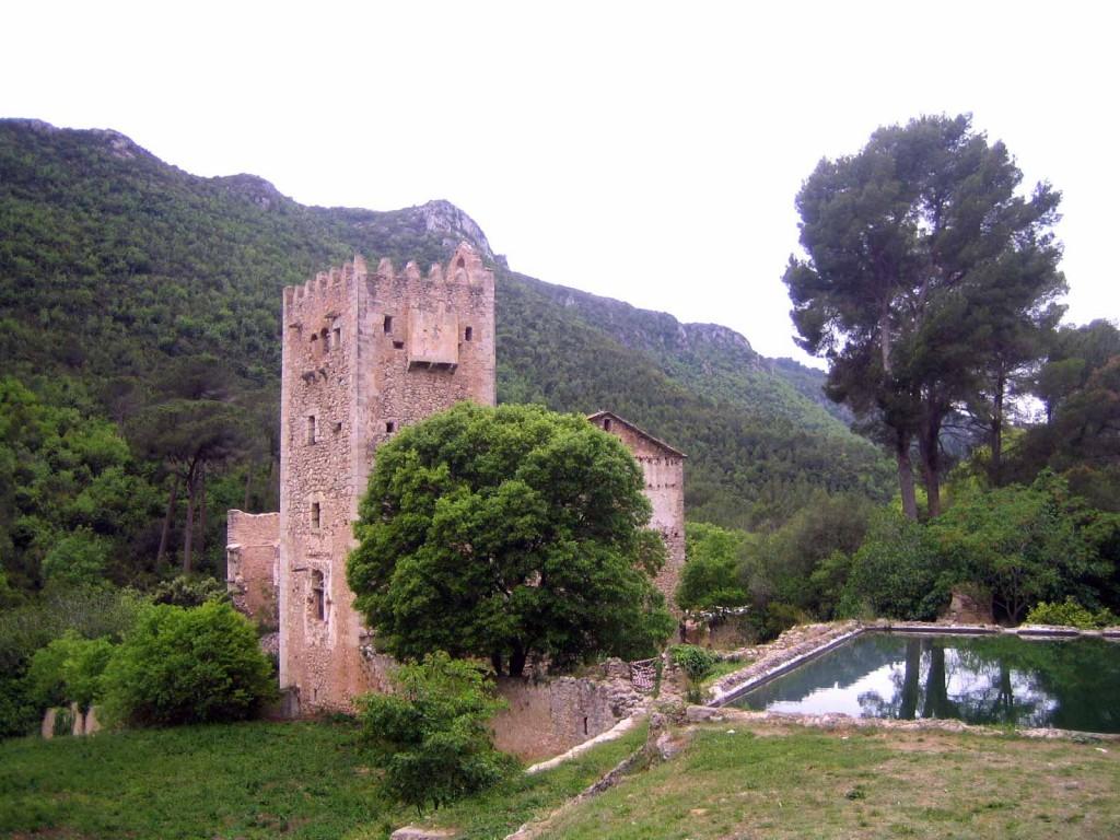 Foto monasterio de Murta Alzira Monasterios valencia