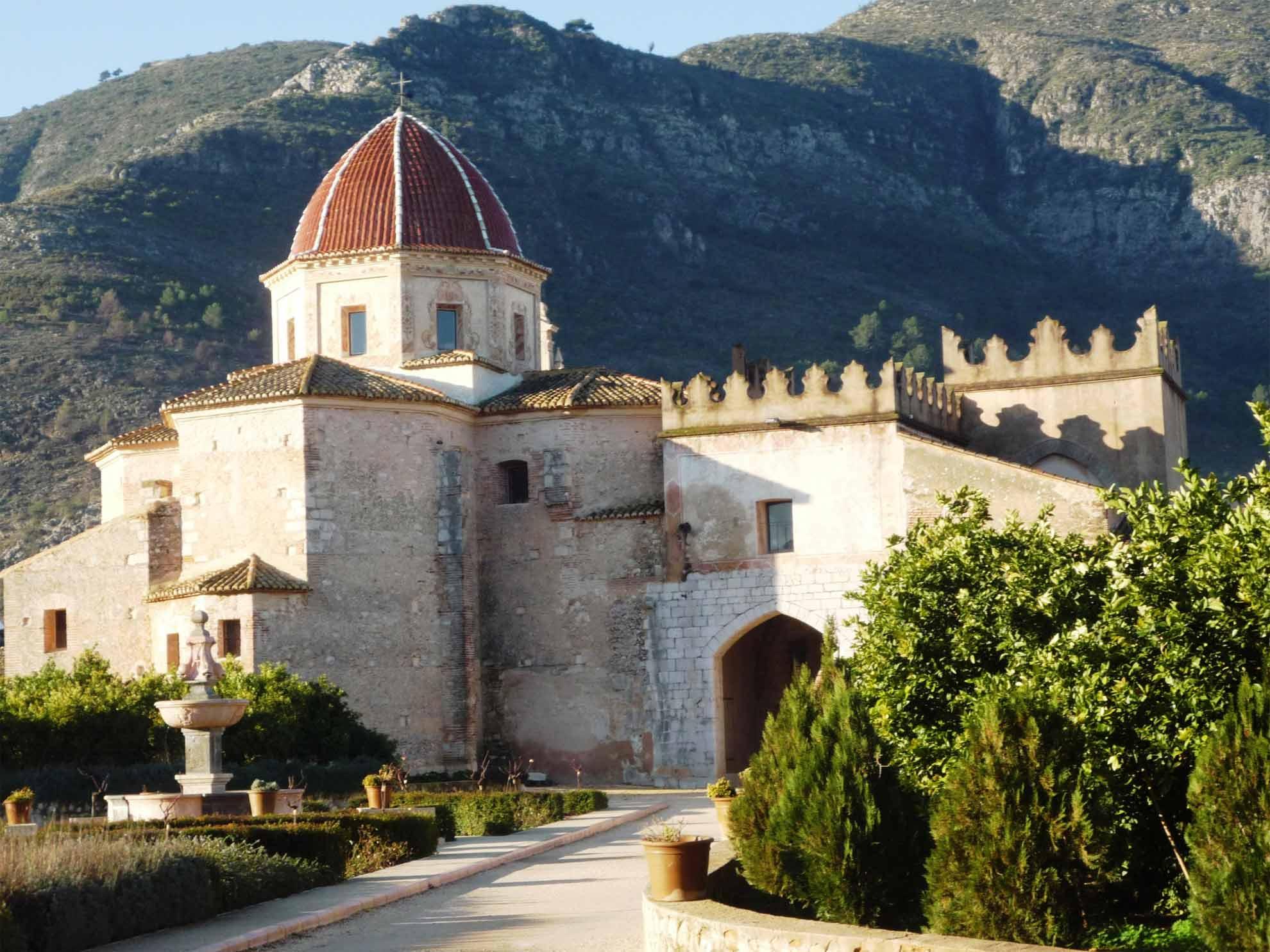 Foto monasteria de la Valldigna ruta monasterios Valencia