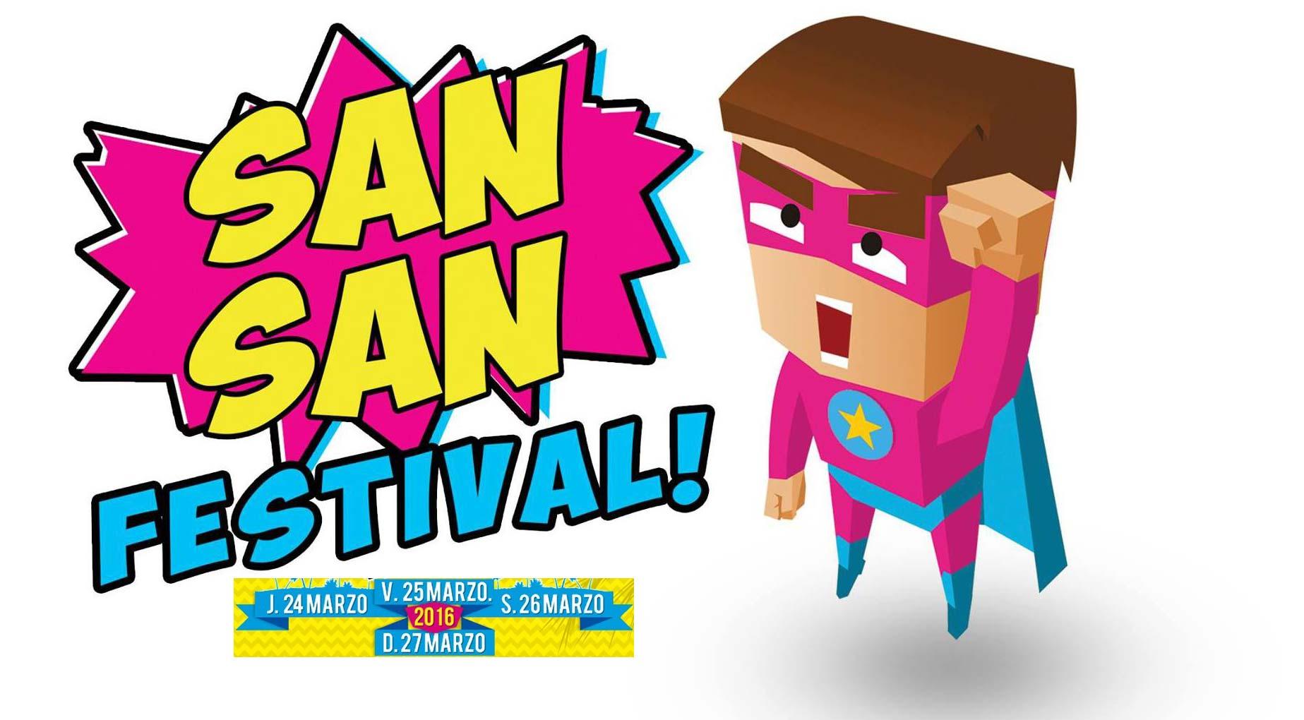 Cartel del SanSan festival 2016