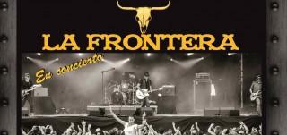 Carátula disco del grupo la Frontera en Gandia