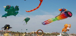 Foto de Cometas playa Gandia