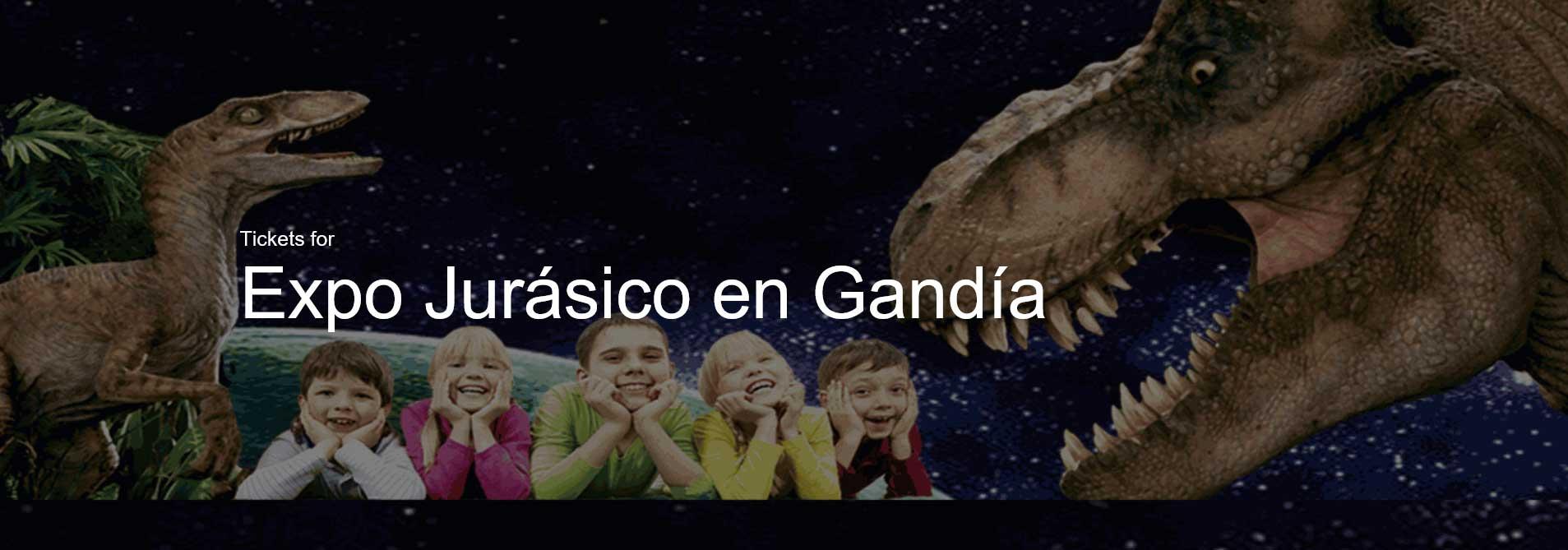 cartel Expo Jurásico Gandia 2016