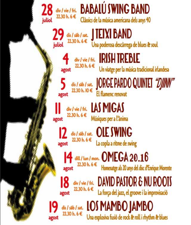gandia en agosto 2017 cartel del festival polisonic