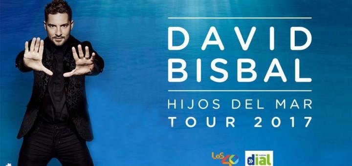cartel concierto david bisbal en gandia 2017