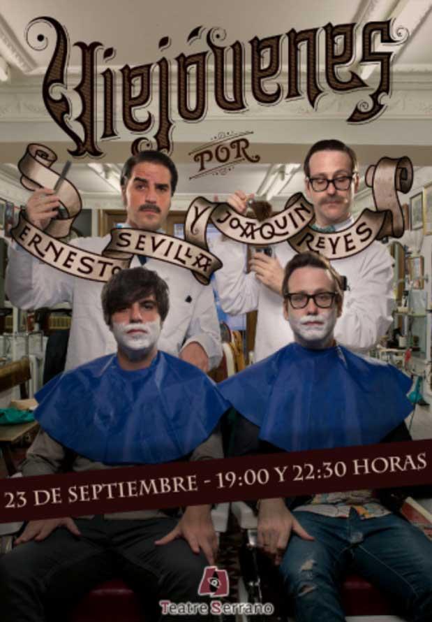 cartel teatro Gandia en septiembre