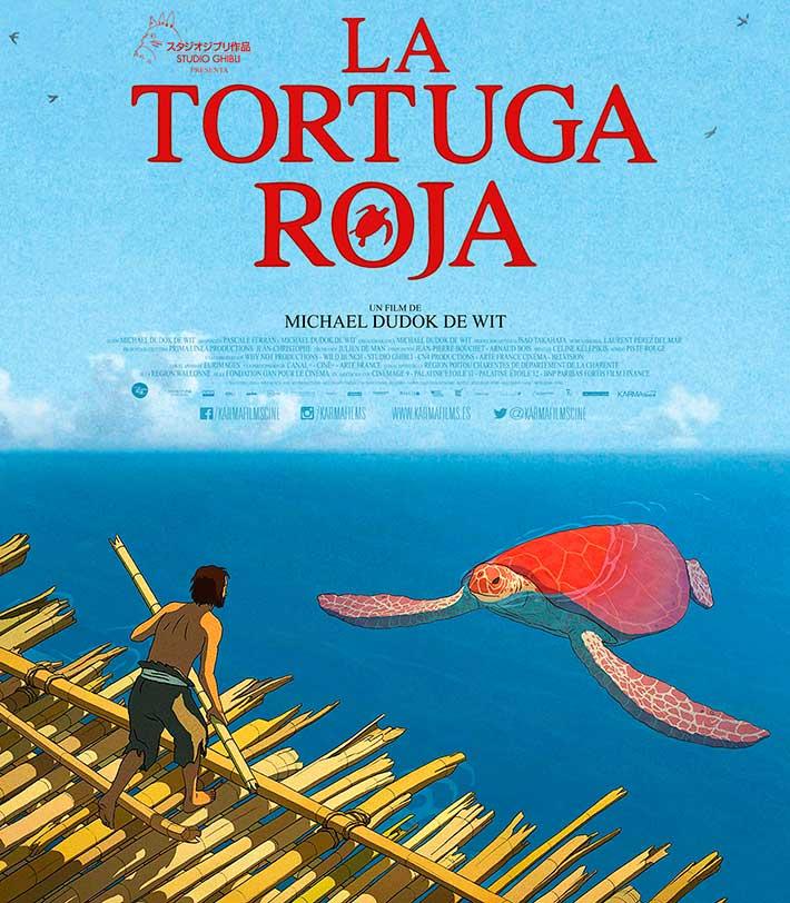 actividades en gandia octubre 2017 cine la tortuga roja