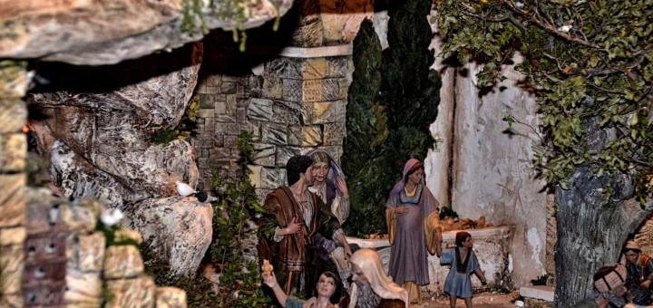 foto belén monumental actividades en Gandia diciembre 2017