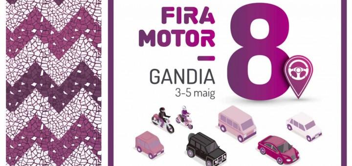 Cartel Feria Motor Gandia 2019