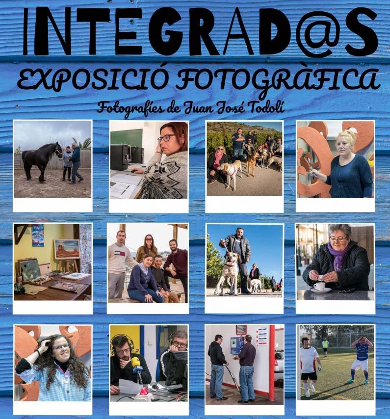 cartel expo integrados actividades Gandia noviembre 2018