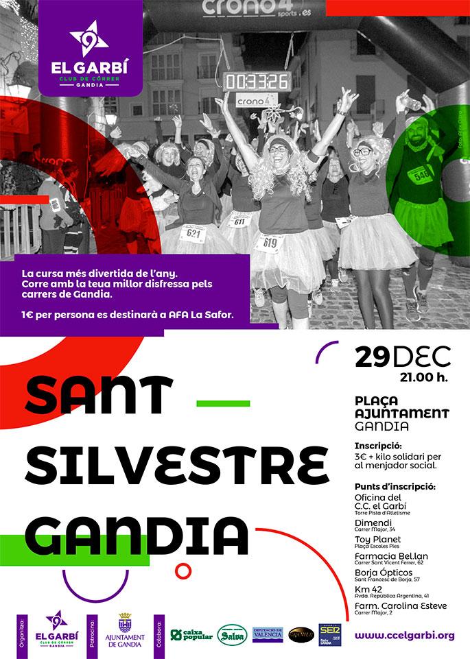 San silvestre actividades Gandia Navidad 2018