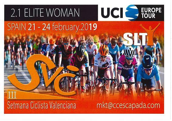 Ciclismo para mujeres en la agenda actividades en Gandia febrero 2019