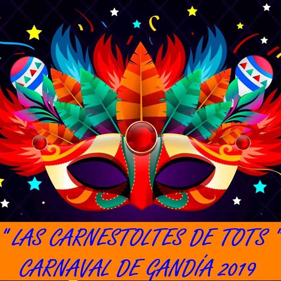 Carnaval en agenda de ocio en Gandia marzo 2019