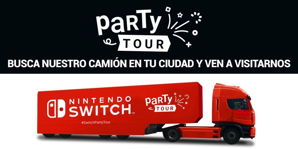 foto camión Nintendo tour en las actividades Gandia agosto 2019
