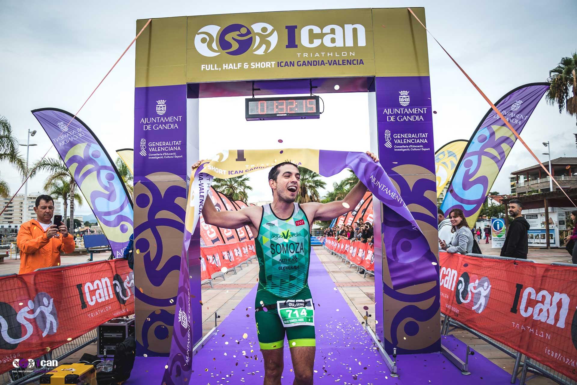 foto ican triatlon de actividades Gandia octubre 2019
