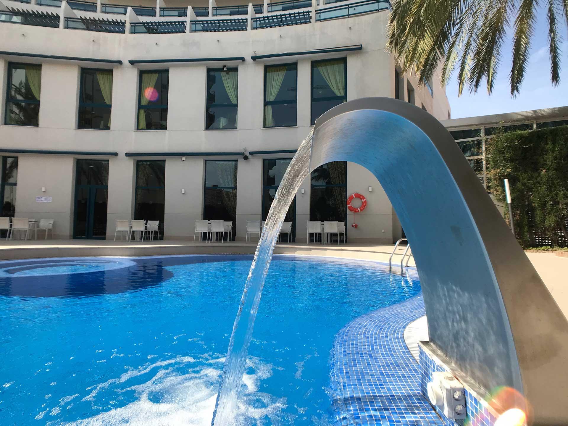 Foto piscina Medidas covid 19 del Hotel Principal Playa de Gandia